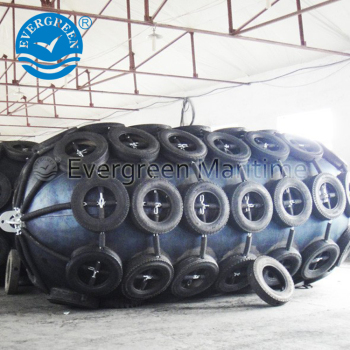 Floating YOKOHAMA Pneumatic Rubber Fenders