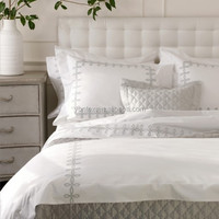 100% Cotton White Bedding Set For Hotel