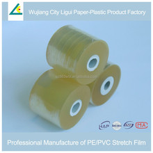 Cable and wire packaging soft pvc stretch wrap