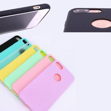 New wholesale Pastel Candy Color Soft TPU Case for iPhone7