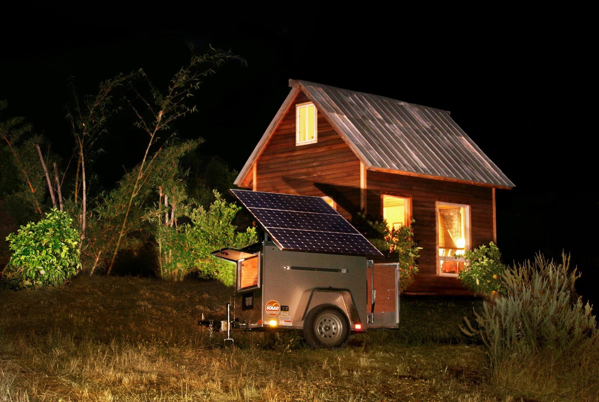 Hot Sell 1KW off grid Solar Generator System