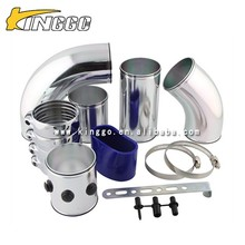 Universal 3inch Racing Car auto parts aluminium air intake pipe