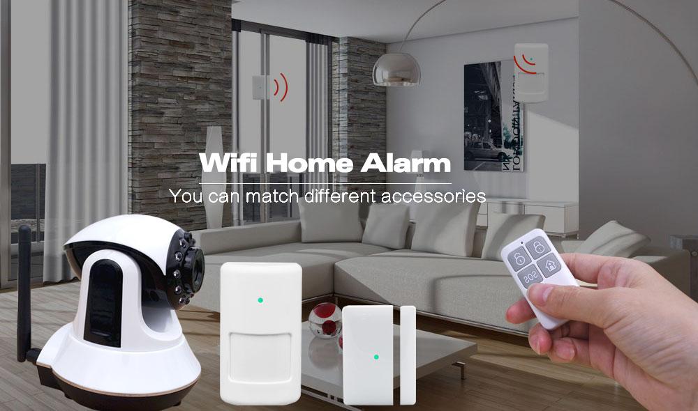 3G WIFI Camera Alarm System Smart Home Burglar alarm system with PIR Door sensors