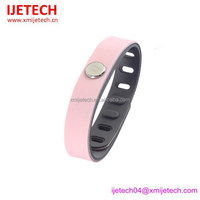 China manufacturer fashion negative ion infrared germanium energy cheap custom silicone bracelet 2015