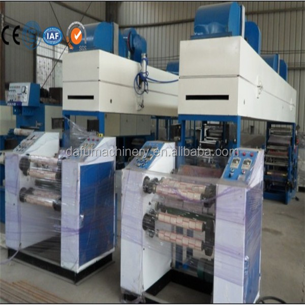 Adhesive Tape Making and Printing Machine