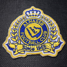 custom embroidered patches for clothes with merrowed border