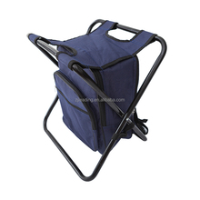 Outdoor Insulated Seat Chair Cooler Bag Picnic lunch Bag fishing camp stool Portable Folding cooler Bag