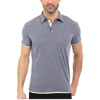 soft jersey mens fold-over collar polo formal t shirt