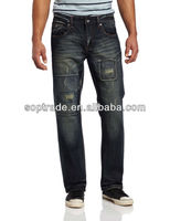 Cheap china wholesale clothing stocklot funky men jeans