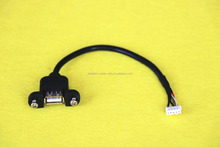5 Pin Internal Motherboard Female Header to USB Male Adapter Extension Cable with High Speed 2.0