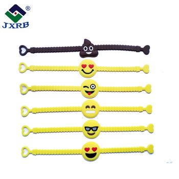 Wholesale valentine gift toys child novelty chain silicon rubber band wristband women mens bracelets