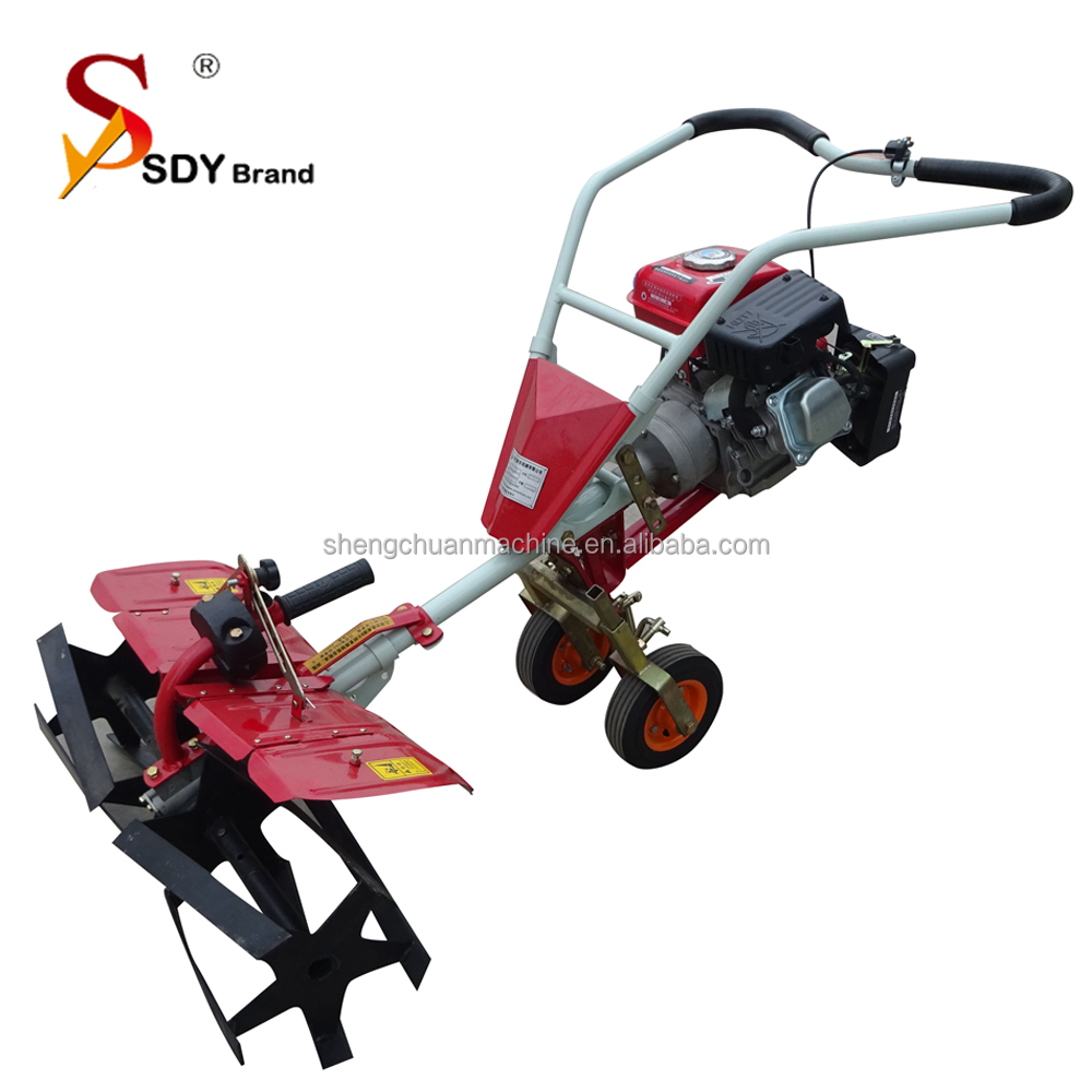 Profession Agricultural Machinery/Farm Power Tiller mini power weeder 3hp gasoline using in small filed land