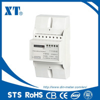 DIN Rail Electronic 230V 50HZ Kwh meter