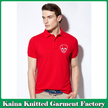 Bulk men fashion cotton custom printed high quality polo t shirt