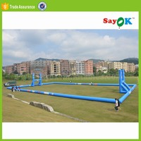 new giant inflatable soccer field obstacle course for sale inflatable football field