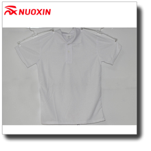 NX cheap custom new design soft white 100% cotton polo shirt for men and women