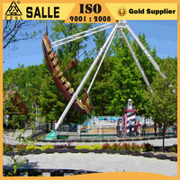 2016 super attractive outdoor kids amusement park ride recreational equipment mini pirate ship
