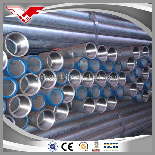 BS Standard Threaded hot dip galvanized pipe WITH lowest price