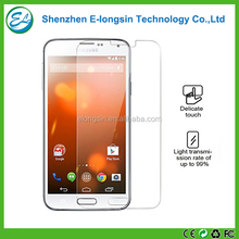 HD clear 2.5D anti scratch anti shatter screen protector film for Samsung Galaxy S5 tempered glass screen guard