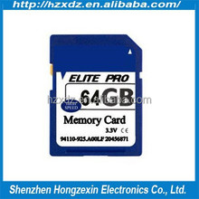 100% real full capacity 64gb sd memory card sd Memory Card For Digital Camera sd card class 10