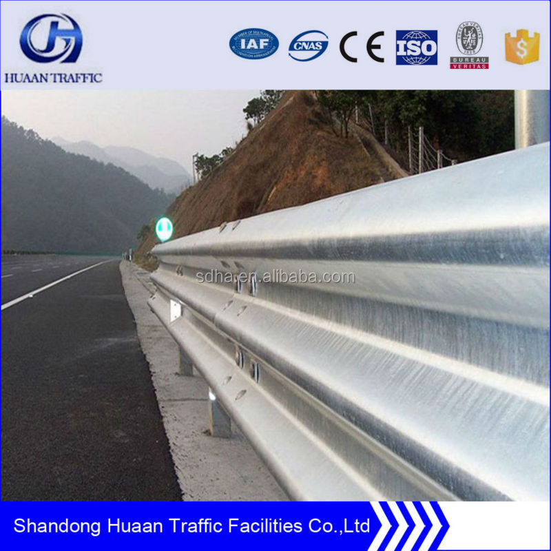 Galvanized Armco expressway Guard Rail price /Road Safety Barrier