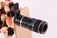 12X Optical Zoom Mobile Phone Telescope Lens For iPhone Samsung Mobile Phone