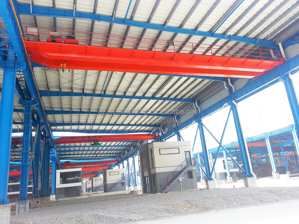 Foshan steel market halls, steel products logistic hall