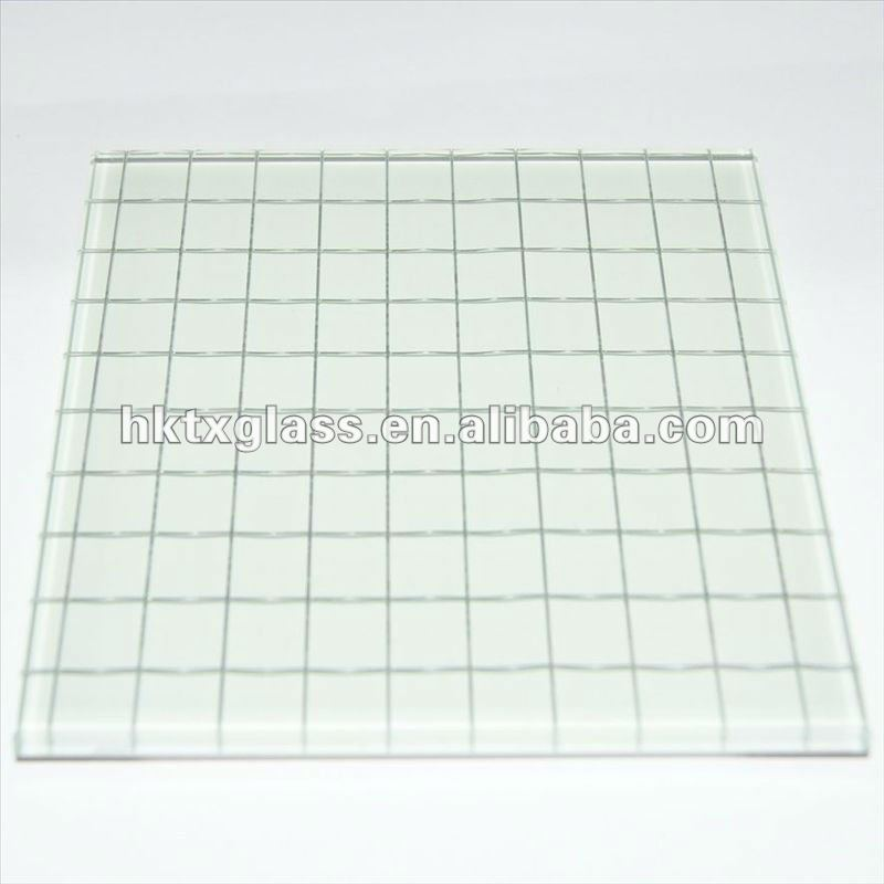 Wire mesh glass with AS/NZS 2208:1996, BS6206, EN12150 certificate