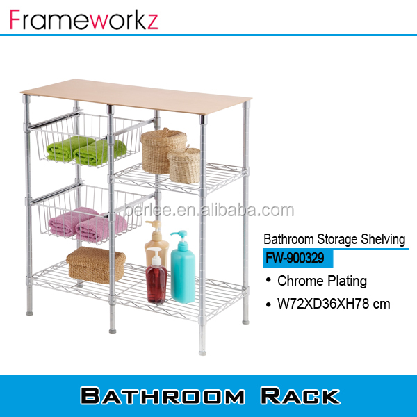 Home storage shelving / bathroom shampoo holder