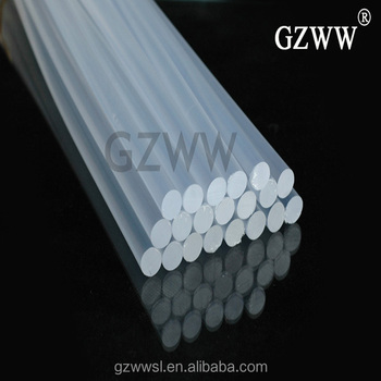W129 Hot melt glue stick transparent silicone