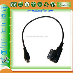 Round Audi A6 Q7 AMI MMI audio music interface cable audi ami cable