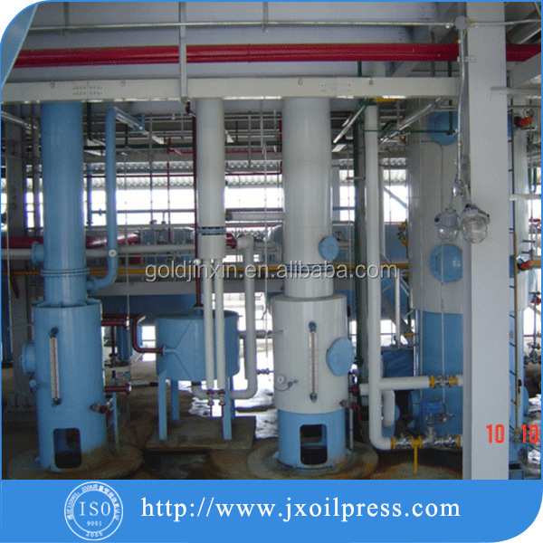 Top sale soybean peanut rice bran palm oil refining machine with competitive price.