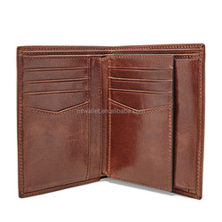 Hot Italian Leather Men Magic Card Bags Fashion Money Solid Thin Wallet Card Holder Purse Travel Case Wallet