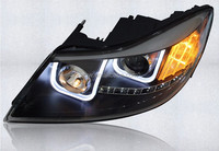 2009-2012 Angel Eye Skoda Octavia Led Headlight