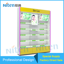 Collapsible Advertising Dolls Cosmetic Display Stand Supermarket Equipment Shelf