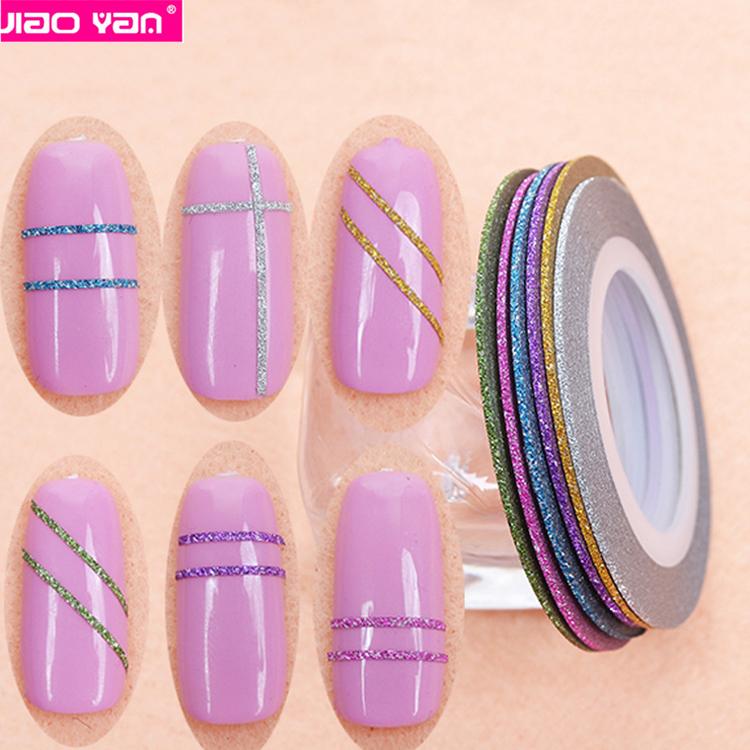 Дизайн ногтей с липкой лентой фото