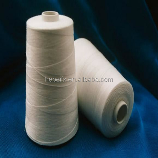 Yarn Factory Hot Sell American Raw Cotton Material Mix Ring Spun 100% Polyester Yarn for Weaving