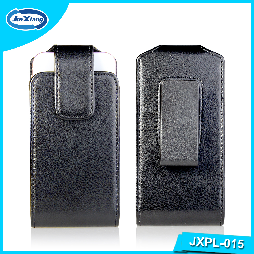 Factory Direct Belt Clip Universal Cell Phone Leather Pouch Case