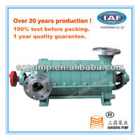 Horizontal multistage centrifugal fuel oil transfer pump