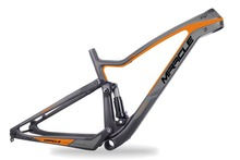 2017 full carbon mountain bike frame 27.5 plus enduro mtb frames full suspension rear space 12*148mm