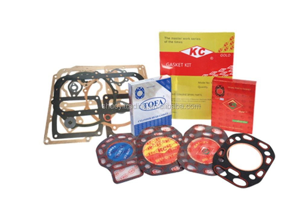 Diesel engine head gasket/cylinder gasket/gasket kit for agricultural spare parts