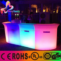 modern funiture of led bar table