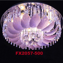 500X500 led ceiling light/Modern changing colored led chandelier FX2057-500