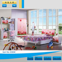Hot sale green bedroom furniture for kids(no more beautiful than us)