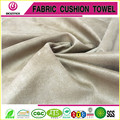 100% polyester suede fabric bonded with black white mesh backing use for sofa cover and furniture