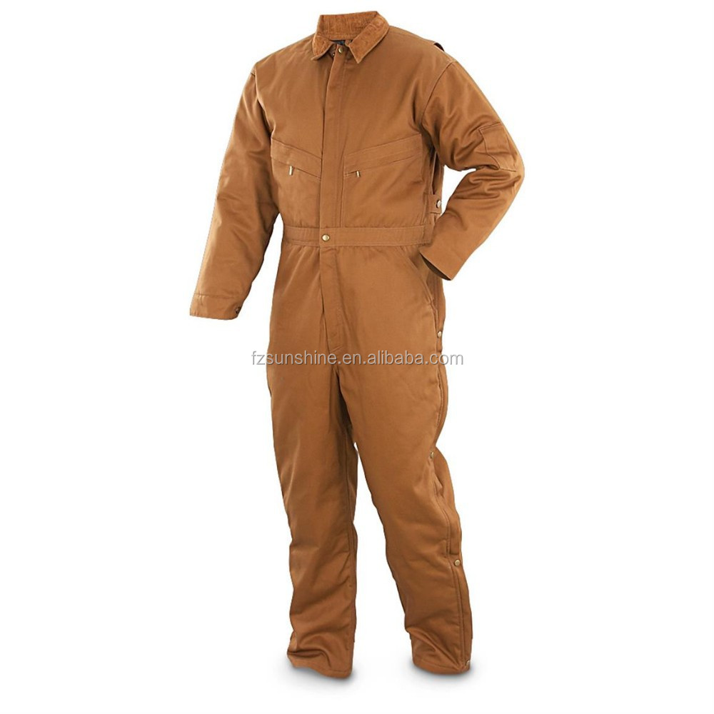 Waterproof Insulated Winter Coveralls