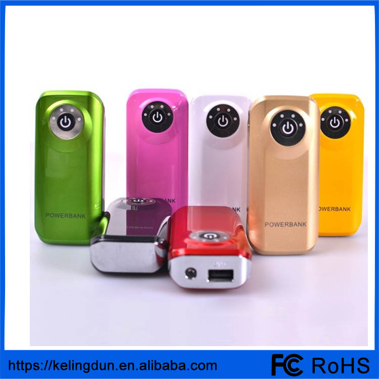 Fish mouth mobile power charging treasure 5600 mah can be customized LOGO fashion gift