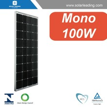 Best quality solar panel 100w 12v monocrystalline with battery charger