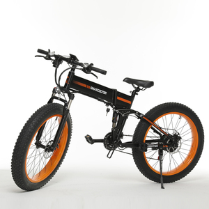 Fantastic big powerful foldable full suspension fat tire mountain electric bike