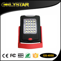 Onlystar GS-4050 20+3led outdoor mini portable stand light SMD work led flashlight